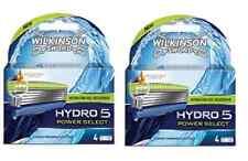 Wilkinson Sword by Schick Hydro 5 Power Select Razor Blade, 8 Cartridges