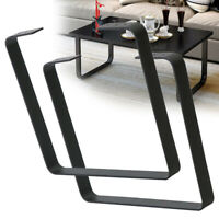 "2*16"" Modern Table Leg Metal Trapezoid Rod Tabletop/Desk Iron Leg DIY Furniture"