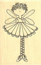 Fairy Sweet, Wood Mounted Rubber Stamp IMPRESSION OBSESSION - NEW, G19100