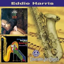 Eddie Harris: Cool Sax Warm Heart / Cool Sax From Hollywood To Broadway NEW CD