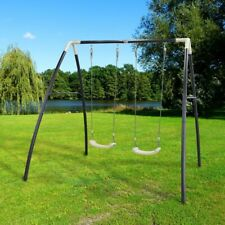 AXI Doppelschaukel Kinder Schaukel Spielplatz Schaukelgerüst 210 x 210 x 217