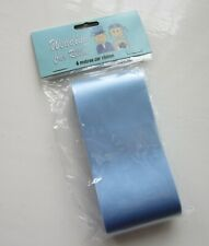 Blue Wedding Car Ribbon | 6 metres long x 5cm wide | Brand New in Pack