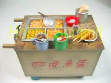 1/10 Hong Kong HAWKER MOBILE FOOD CART Gashapon Local Street Snack Delicacies #7