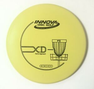 Flat Xd innova old putt & approach putter 175 Penned Rare Oop Bullet Yellow