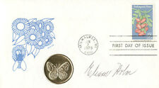 ELEANOR HOLM - FIRST DAY COVER SIGNED