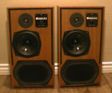 KEF Reference Series Model 104aB Speakers 100W Consecutive Serial Number - Pair