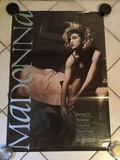 VINTAGE 1984 MADONNA MUSIC VIDEO TAPE PROMO POSTER RARE