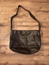 Roxy Brown Faux Leather Shoulder Bag Purse ~ Cute ~ *WOW*