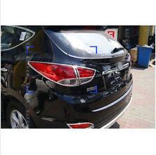 For Hyundai Tucson ix35 2010-2012 ABS Chrome Rear Tail Light Lamp Cover Trim 2X
