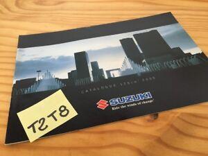 Suzuki 125 2005 Furgoneta Burgman Intruder Marauder Catálogo Folleto Publicidad