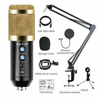 BM858 Condenser Microphone Kit Audio Recording Adjustable volume noise reduction