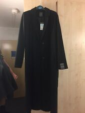 PRIMARK LONG BLACK COAT SMART 10