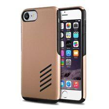 Fundas y carcasas Para iPhone 7 de plástico de color principal negro para teléfonos móviles y PDAs