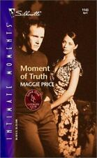Silhouette Intimate Moments Moment of Truth No 1143 Maggie Price 2002 Paperback