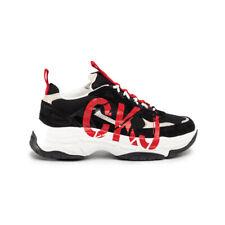 Calvin Klein Mizar Low Top Lace Up Sneaker Uomo B4S0651 001 Black Stone