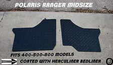 POLARIS RANGER black MID-SIZE 400-500-800 DIAMOND PLATE FLOOR BOARDS 2011-13