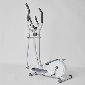 8 Gears Vertical Elliptical Trainer Treadmill Magnetic Exercise Bike Jogging