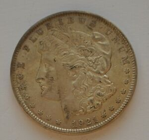 1921 US USA $1 Morgan Dollar Silver Coin (1)