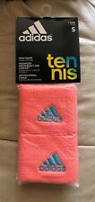 New unisex adidas sweatband, orange, maximized absorbency and comfort.