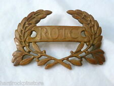 Vintage ROTC collar hat pin with double attachments USA Army Air Force Military