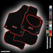 VW Golf Mk5/Jetta (2007 to 2009) Fully Tailored Car Mats+ GTI Logo CUSTOMISE NOW