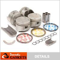 90-98 Mazda Protege Miata Escort Tracer 1.8L DOHC Pistons Bearings&Rings Kit BP