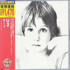 1 CENT CD Boy - U2 JAPAN IMPORT/OBI
