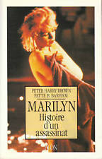 Livre Marilyn histoire d'un assassinat  Peter Harry Brown - Patte B. Barham book