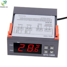 Digital 220V STC-1000 Temperature Controller Thermostat Regulator+Sensor W1209