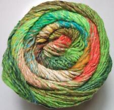 Noro Taiyo 108 Lot A Cotton Silk Wool Yarn Green Orange Peach Lime