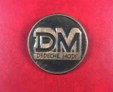 Pin Badge Soviet Underground Prohibited Rock DEPECHE MODE USSR EXTREMELY RARE !!