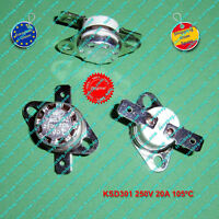 Termostato (1Pz) KSD301 KSD302 250V 20A 105ºC NC, ceramic, Switch Thermostat