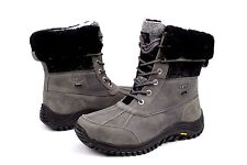 Ugg Womens Adirondack II Charcoal Color Snow Boots Size 7 US