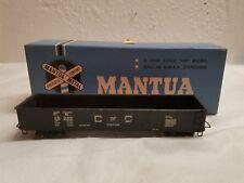 Mantua Ho Scale All Metal Car kit  Gondola C of G 18300