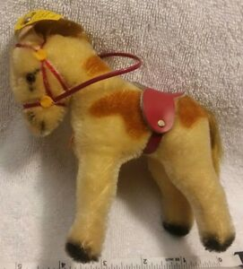 Vtg.steiff donkey W/2 tags good  condition see pictures for more details