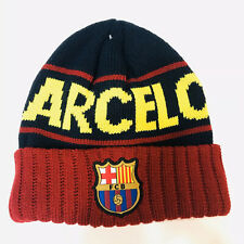 FC Barcelona 2019 Winter Beanie Cap Hat - NEW