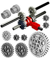 LEGO Technic SPEED GEARBOX KIT axle gear mindstorms driving ring transmission