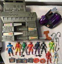 Marvel Secret Wars Lot DAREDEVIL DR DOOM KANG SPIDER-MAN Vintage 1984 MAGNETO