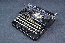 alte ERIKA Reise Schreibmaschine Seidel & Naumann Deko Shabby Loft Industrial