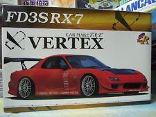 Aoshima 1/24 VERTEX FD3S modèle RX-7 Kit Voiture