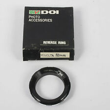 Reverse Adapter / Reversing Ring -  Minolta MD - 52mm (A268)
