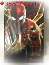 Hot Toys MMS 482 Avengers 3 Infinity War Iron Spider Spider-Man Peter Parker NEW