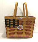Longaberger 1998 Collector's  Club Flag Basket 25 Anniversary Edition