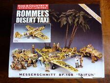 King & Country - Afrikakorps Rommel Taxi Messerschmitt BF.108 - 500 exemplaires