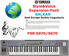 Yamaha PSR S970/S670  Balkan Expansion Pack