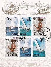 (74833) Korea CTO Yachts Minisheet 1992  very fine used