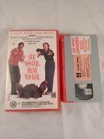 VHS VIDEO TAPE See No Evil Hear No Evil Ex Rental