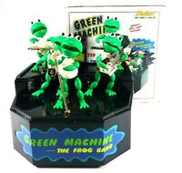Green Machine The Frog Band Metro Games 1989 In Box Vintage Read Description