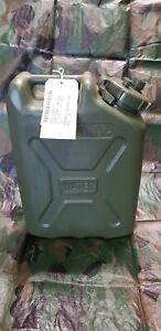 Military Water Can 5 Gallon  Olive Drab  Scepter Style Jerry Can Water Jug NEW