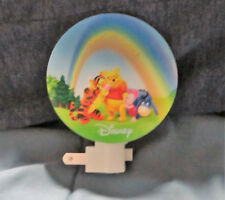 NEW DISNEY WINNIE THE POOH & FRIENDS TIME FOR A STORY  NIGHT LIGHT ROTARY SHADE